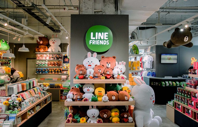 line friends shop bangkok